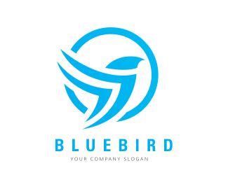 Blue Bird Designed by bakar.