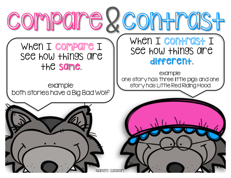 Compare And Contrast Clipart (92+ images in Collection) Page 3.