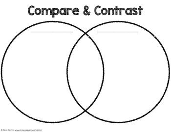 Spring Compare & Contrast {Freebie!}.