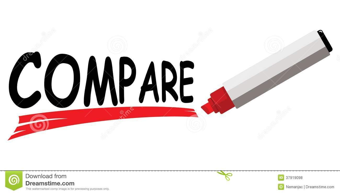 Compare clipart - Clipground