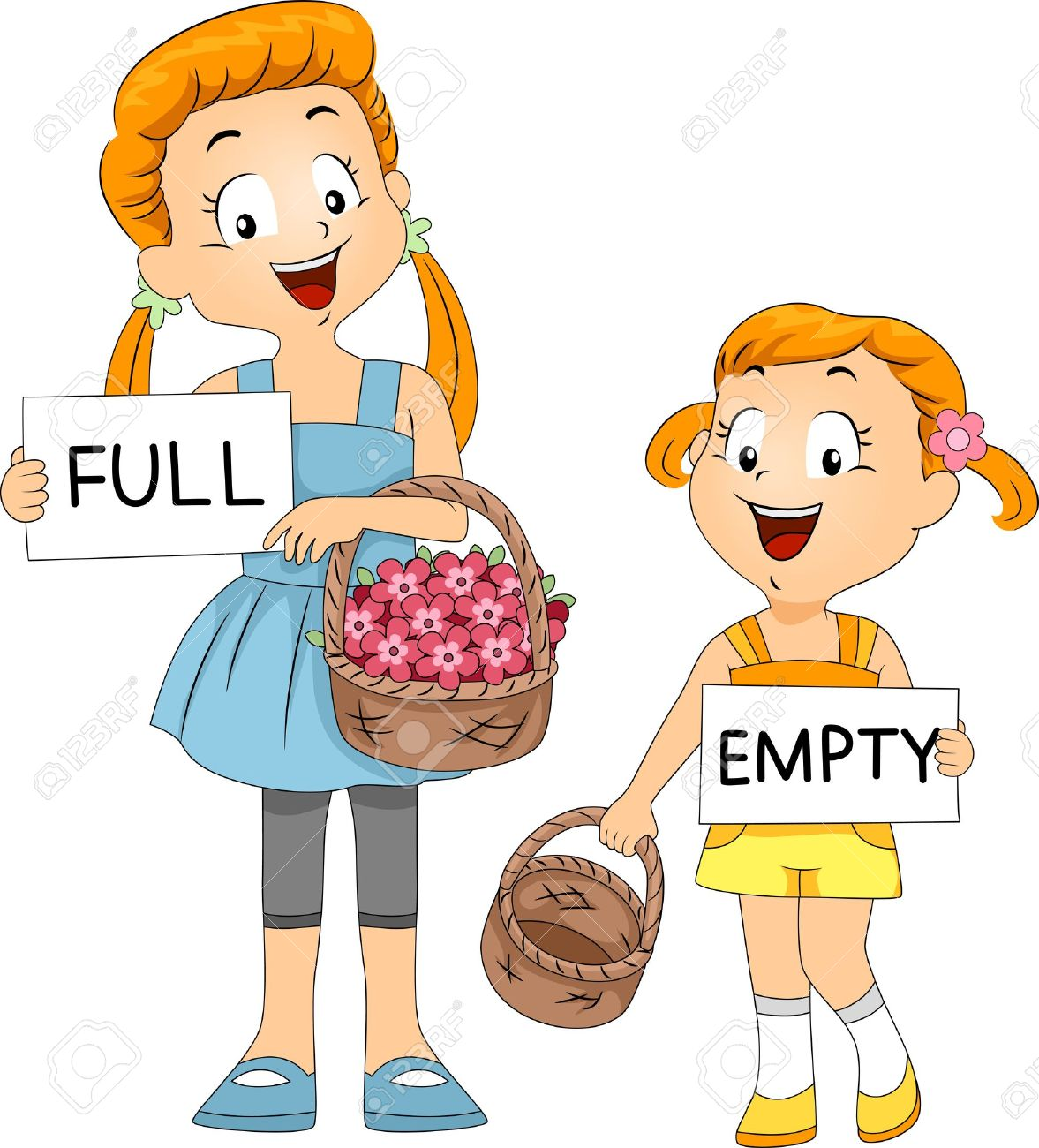 Compared Clipart on Tall And Short Worksheets