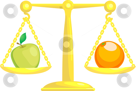 Balancing Or Comparing Apples.