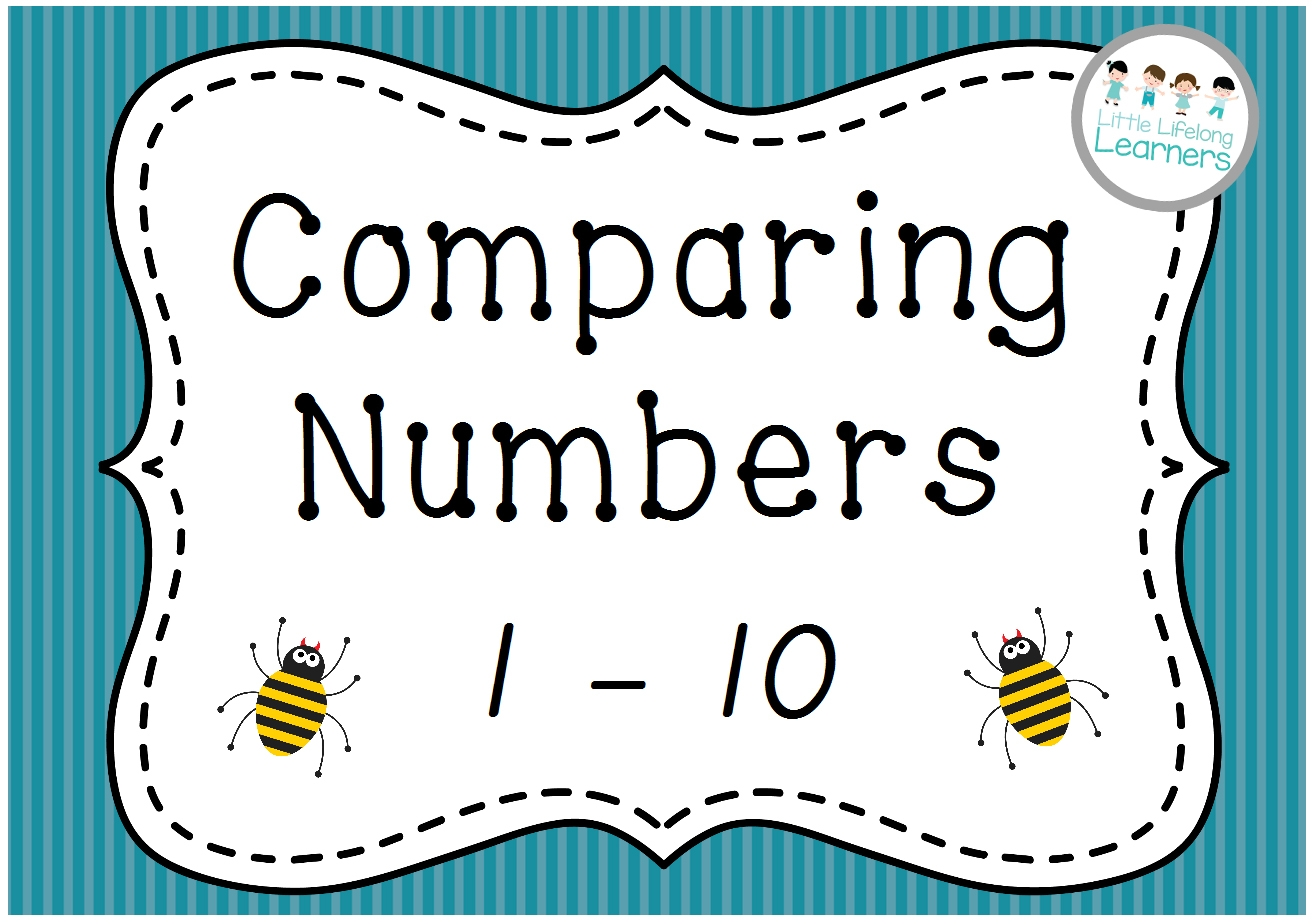 Comparing Numbers Clipart.