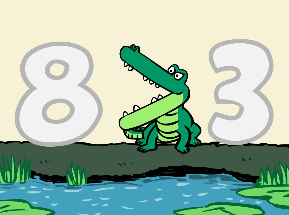 Number Gators (Greater Than, Less Than Symbols Song).