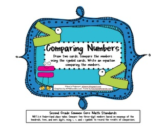 17 Best images about Comparing Numbers (>,<,=) on Pinterest.