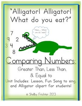 17 Best images about Teach Compare Numbers Math 3rdGrade on.