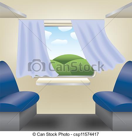 Train compartment Clipart Vector and Illustration. 14 Train.