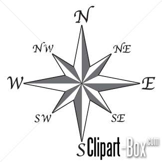 CLIPART COMPASS ROSE 2.