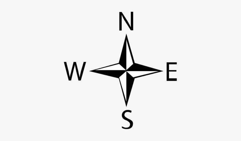 Compass Clipart North Arrow.