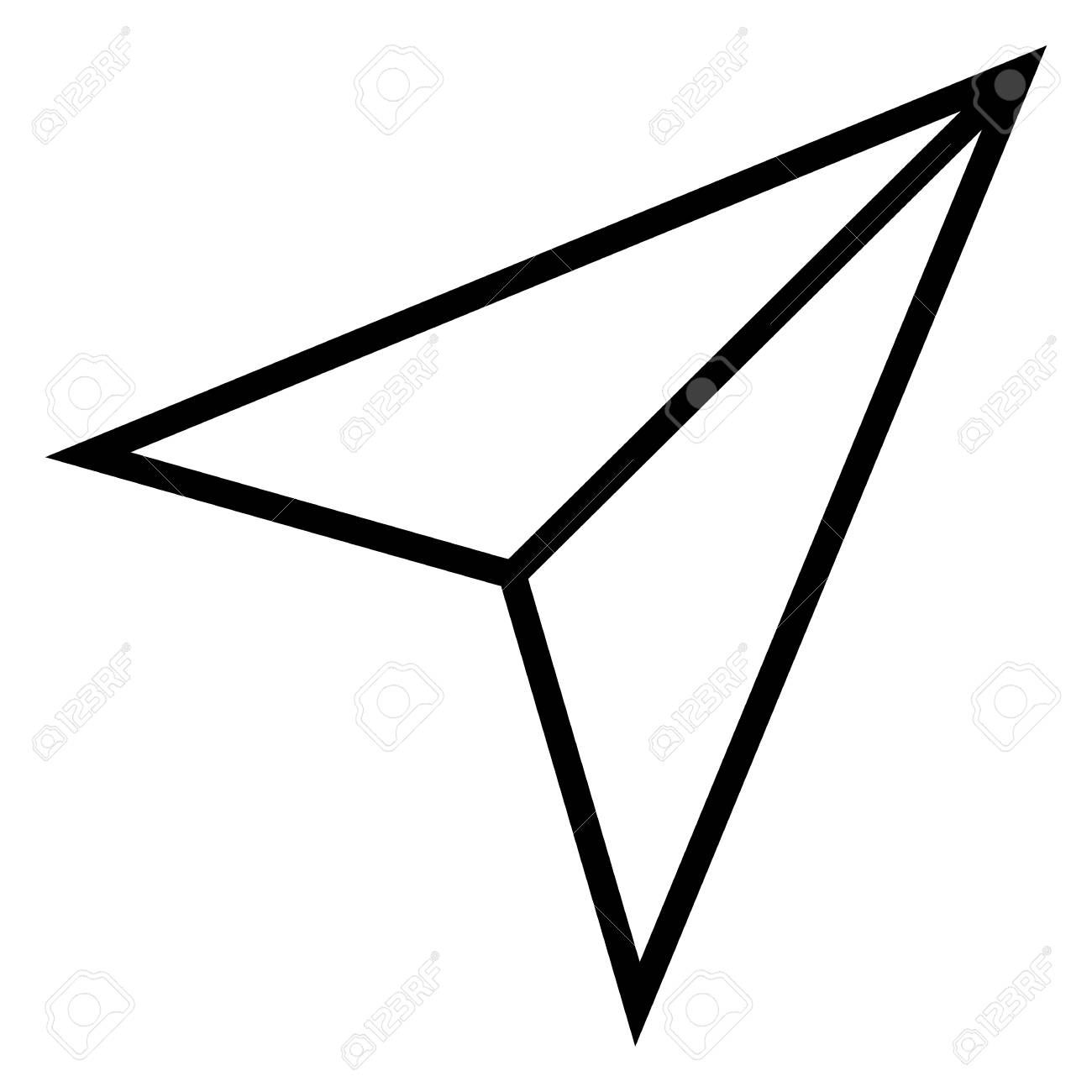Vector Outline Icon.