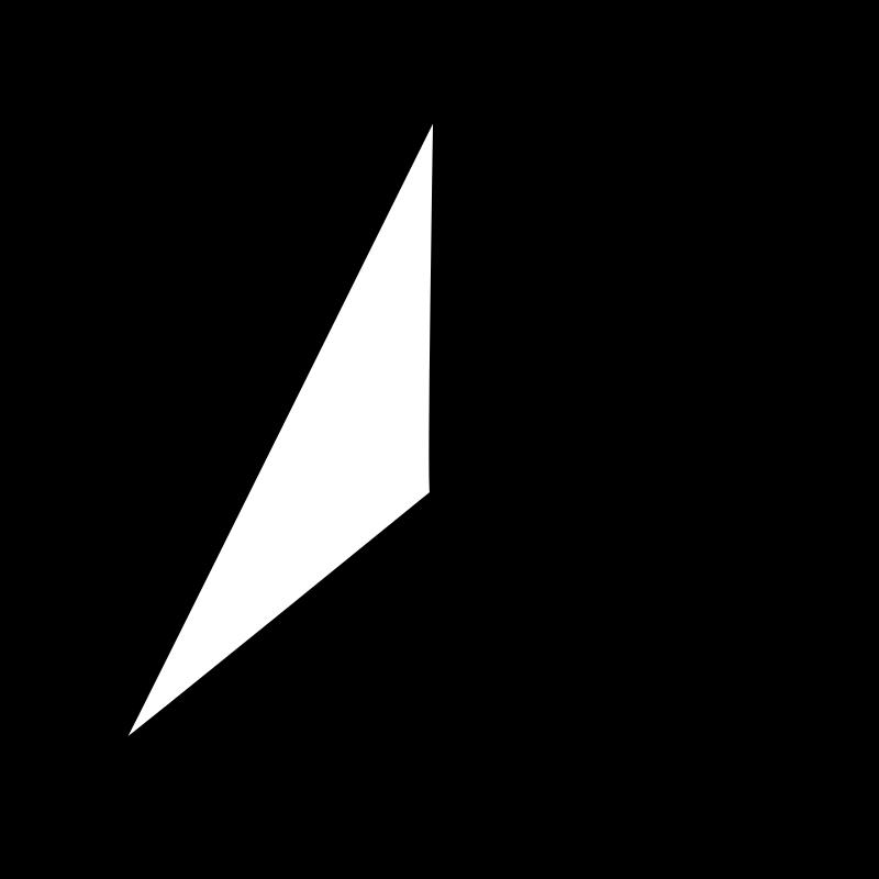 Free Clipart: Compass Arrow.