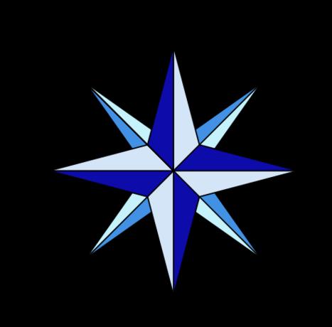 Compass Card Desvg Clipart.