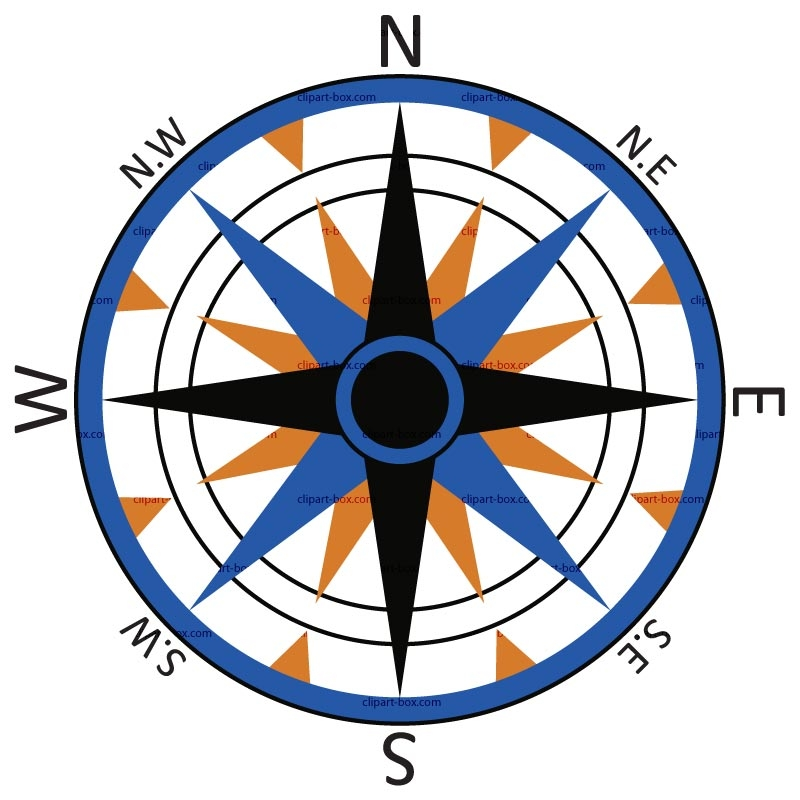 Compass clip art free clipart images 3.