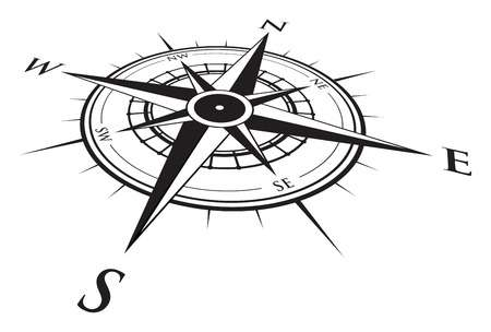Nautical compass clipart » Clipart Station.