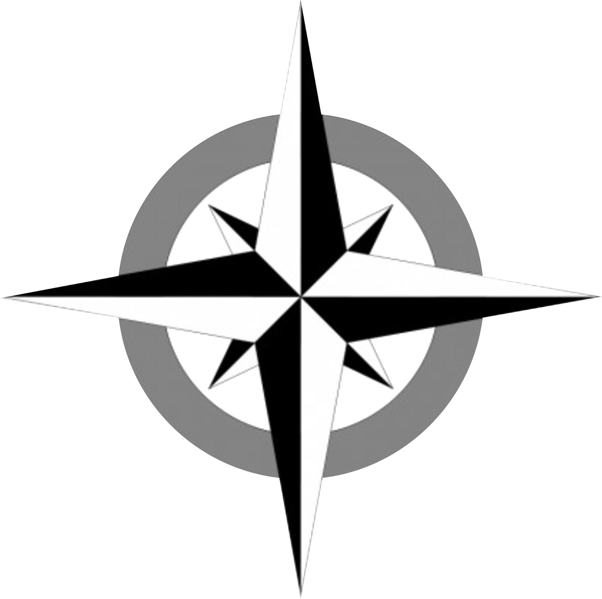Compass rose Clip art.