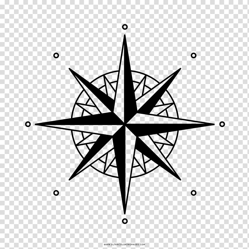 Wind rose Compass rose , compass transparent background PNG.