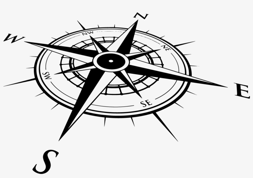 Picture Of Compass Rose.