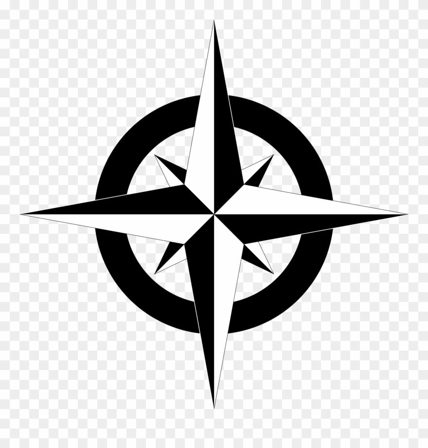 Compass Clip Art Png Transparent Png (#24597).
