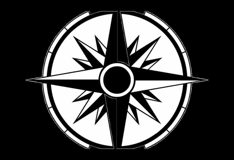 Compass Clipart Four Nautical Free Transparent Png.