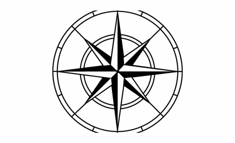 Compass Clipart Psd.