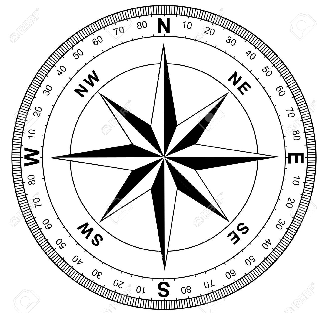 12,234 Compass Rose Stock Illustrations, Cliparts And Royalty Free.
