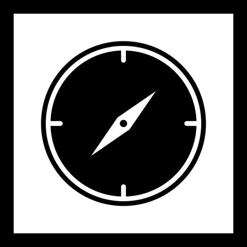 Compass Icon Design.