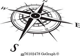 Compass Clip Art.