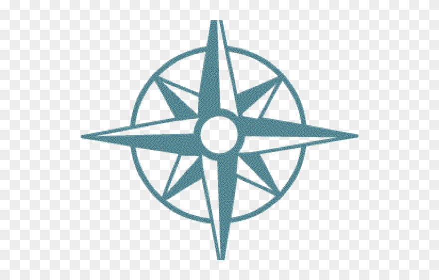North South East West Compass Clipart (#1452428).