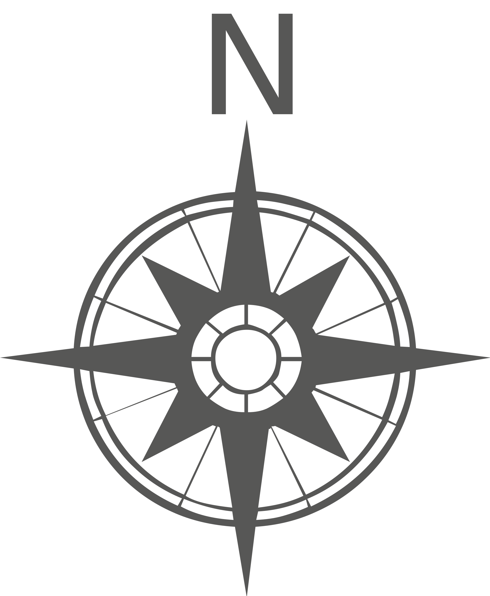 Compass Rose PNG Black And White Transparent Compass Rose Black And.