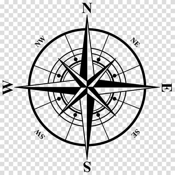 Black compass logo, Compass rose , gps logo transparent.