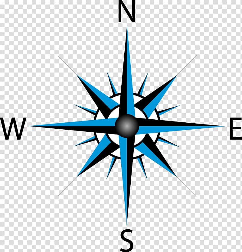 North Compass rose Drawing, compass transparent background PNG.