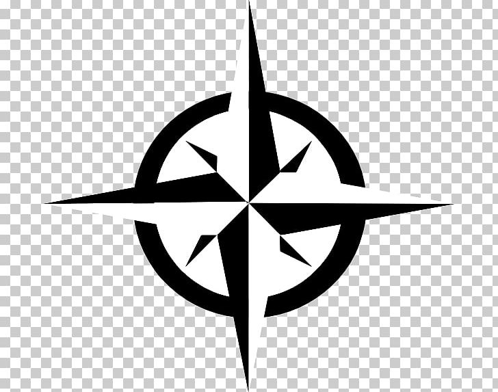 Compass North PNG, Clipart, Art, Black And White, Brand, Circle.