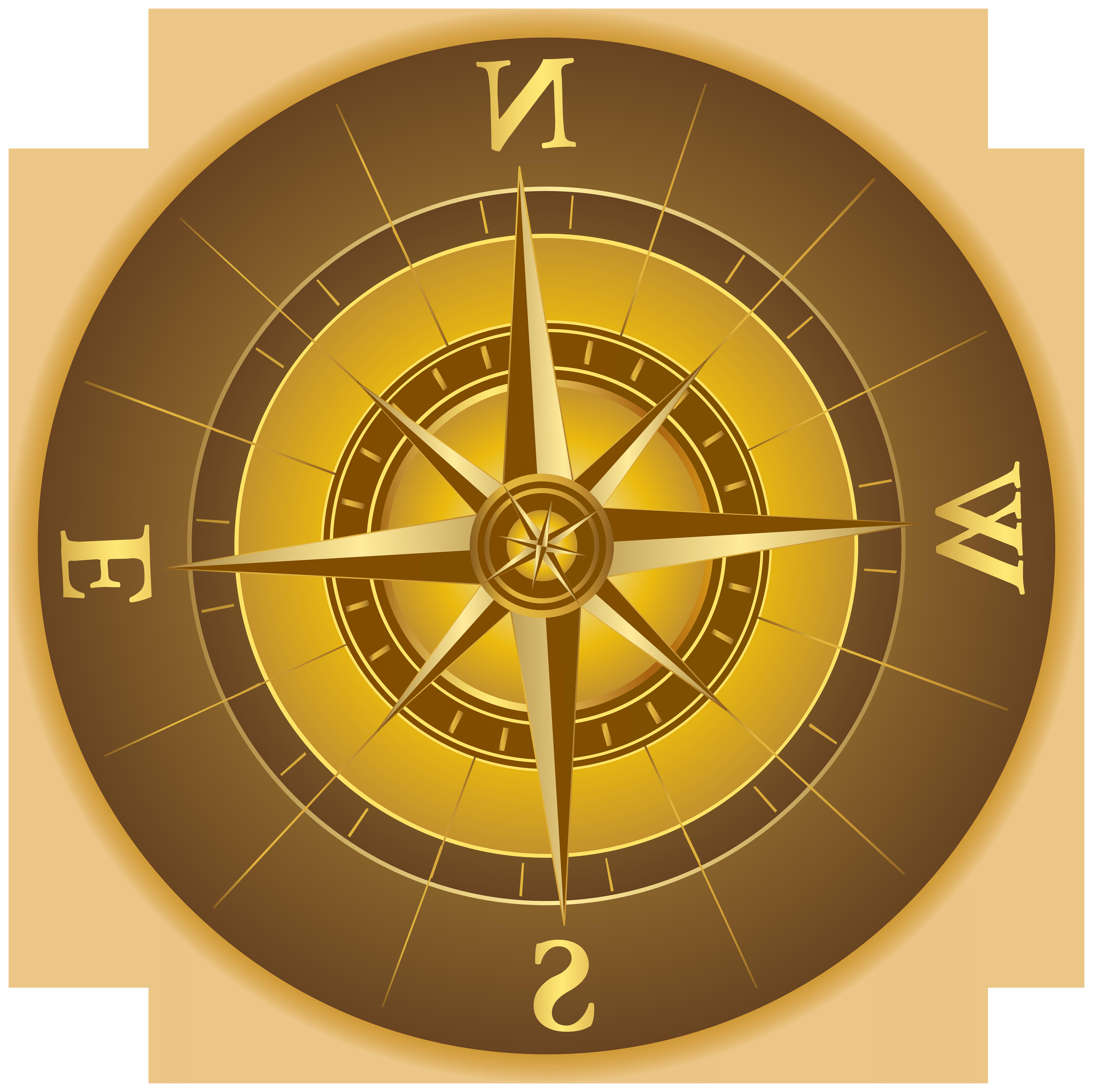 Compass PNG Clip Art Transparent Image.