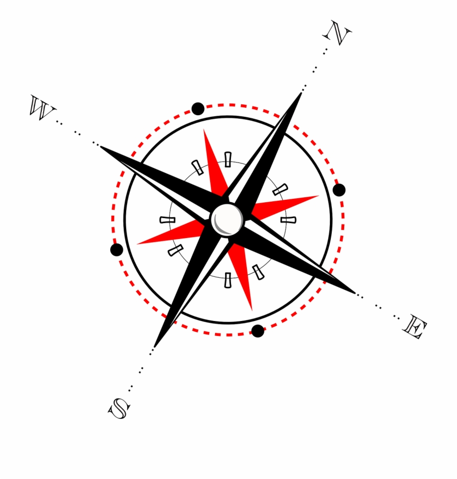 Compass Rose Direction Windrose Png Image.