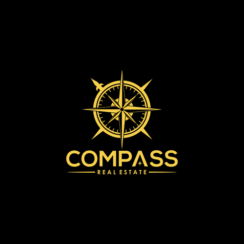 Logo design for Compass Real Estate.