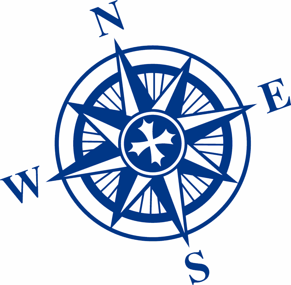 Compass Rose Clip Art N15 free image.