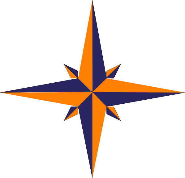 Compass Rose Variation SVG Clip arts download.