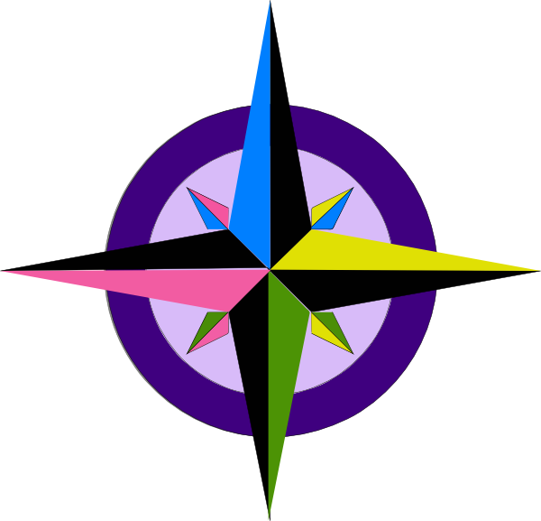 Compass Rose Clip Art at Clker.com.