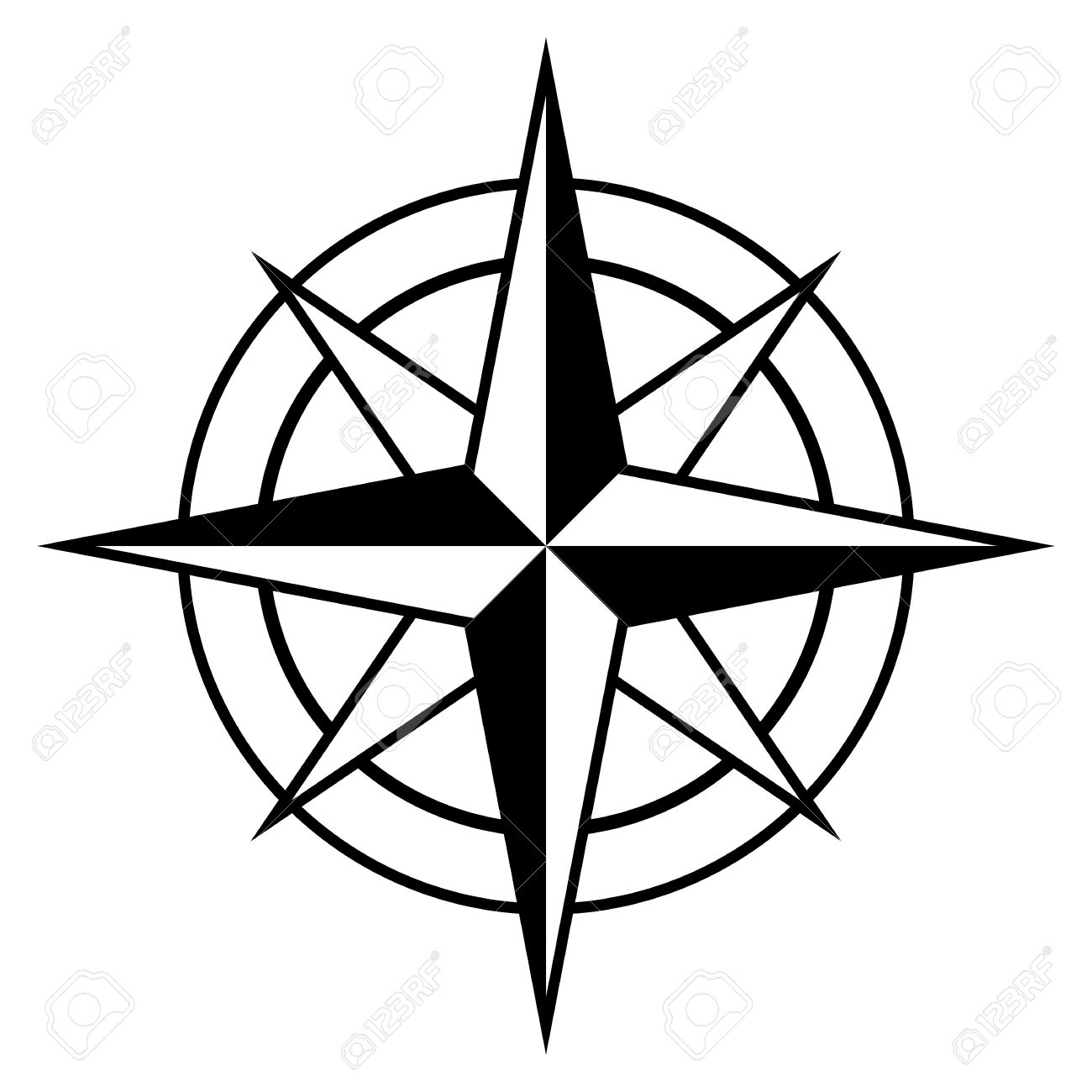 Images Compass Rose Clipart.
