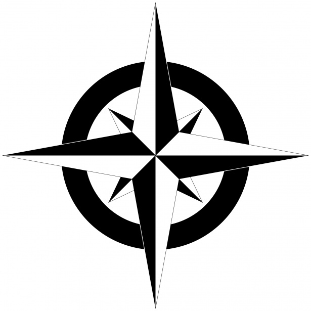 Compass Rose Free Stock Photo.