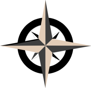 Tan Compass Rose Clip Art at Clker.com.