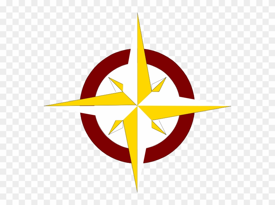 Compass Rose Clip Art Public Domain.