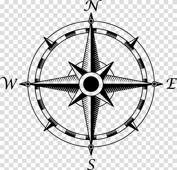 Compass rose , Compass. transparent background PNG clipart.