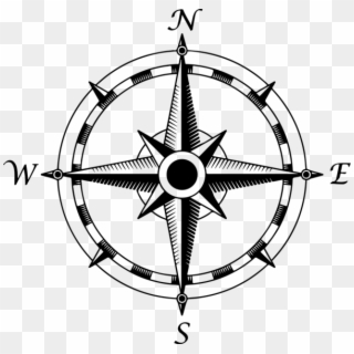 Compass Rose PNG Transparent For Free Download.