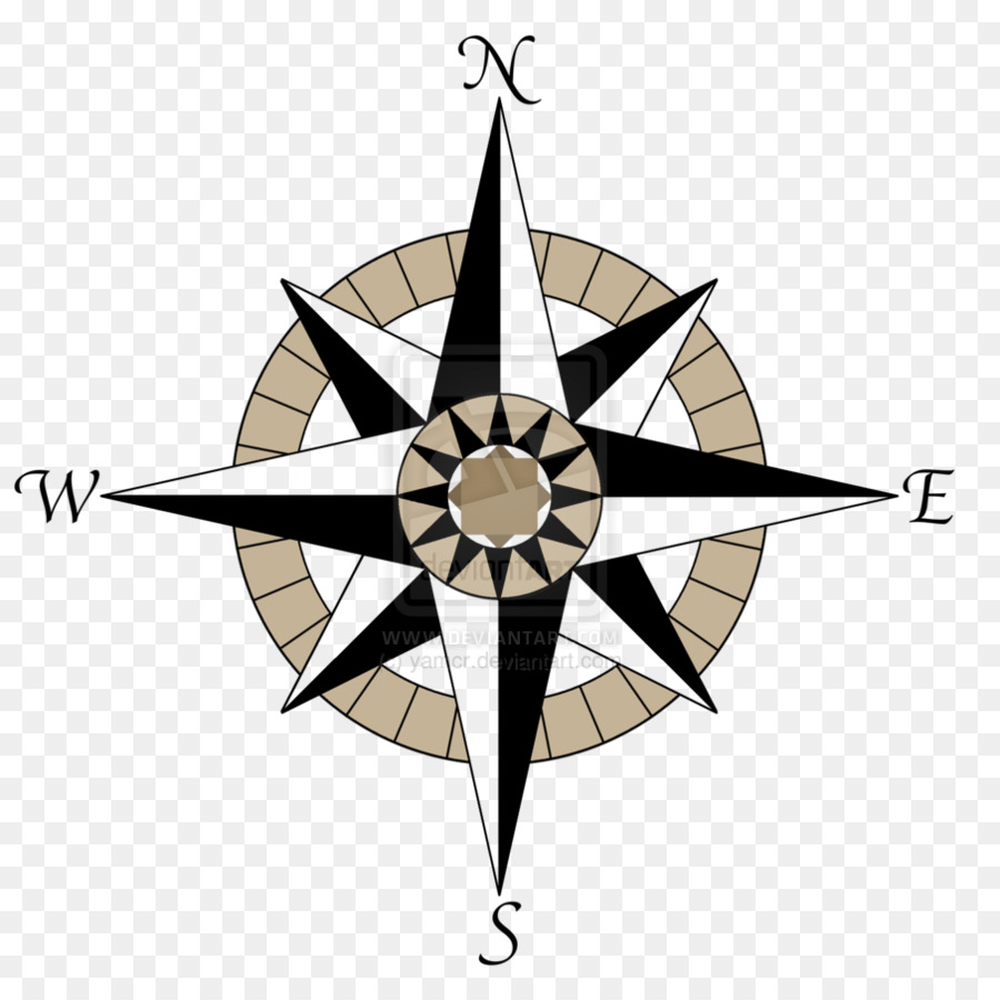 Compass Rosetransparent png image & clipart free download.
