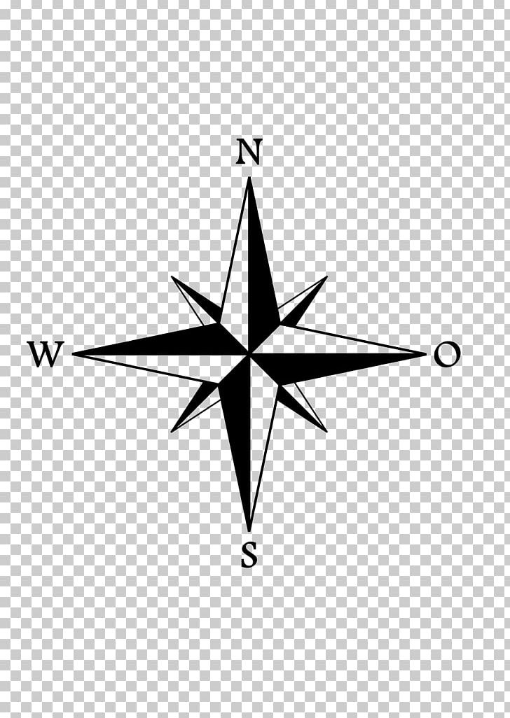 Compass Rose Wind Rose PNG, Clipart, Angle, Area, Black And White.