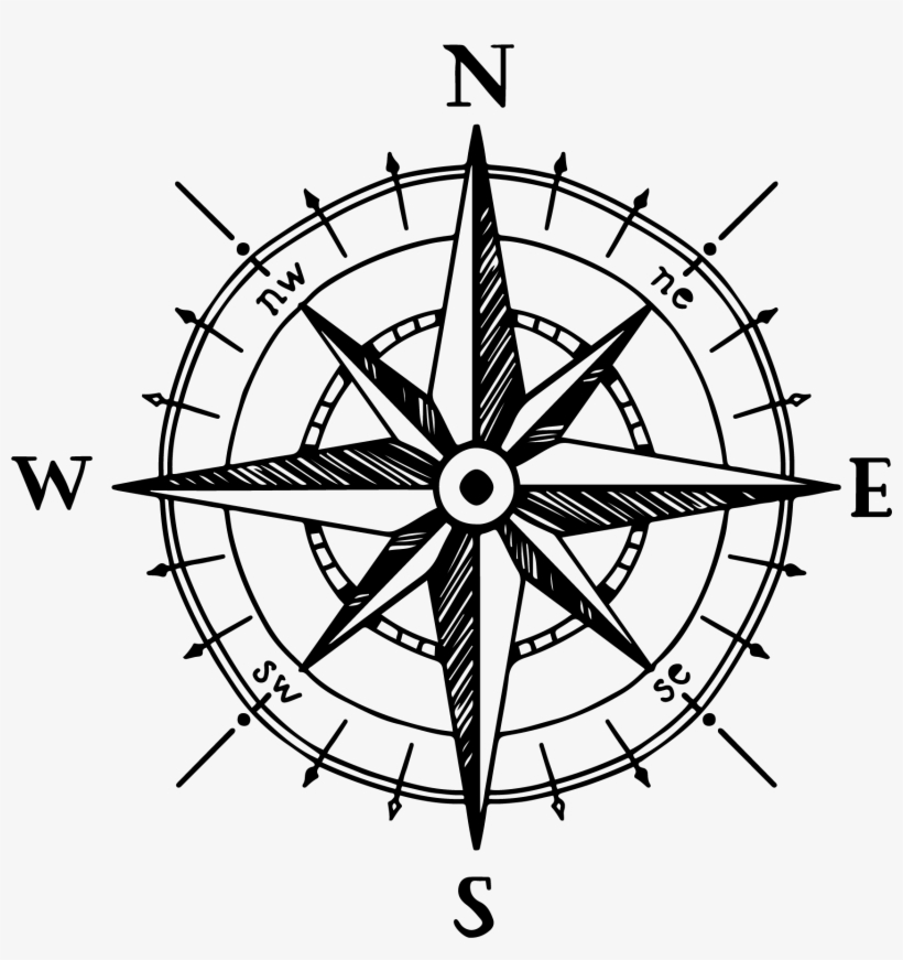Compass Rose Png.