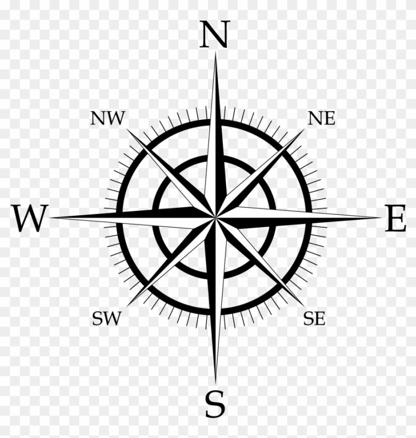 Compass Rose Png Transparent Background.