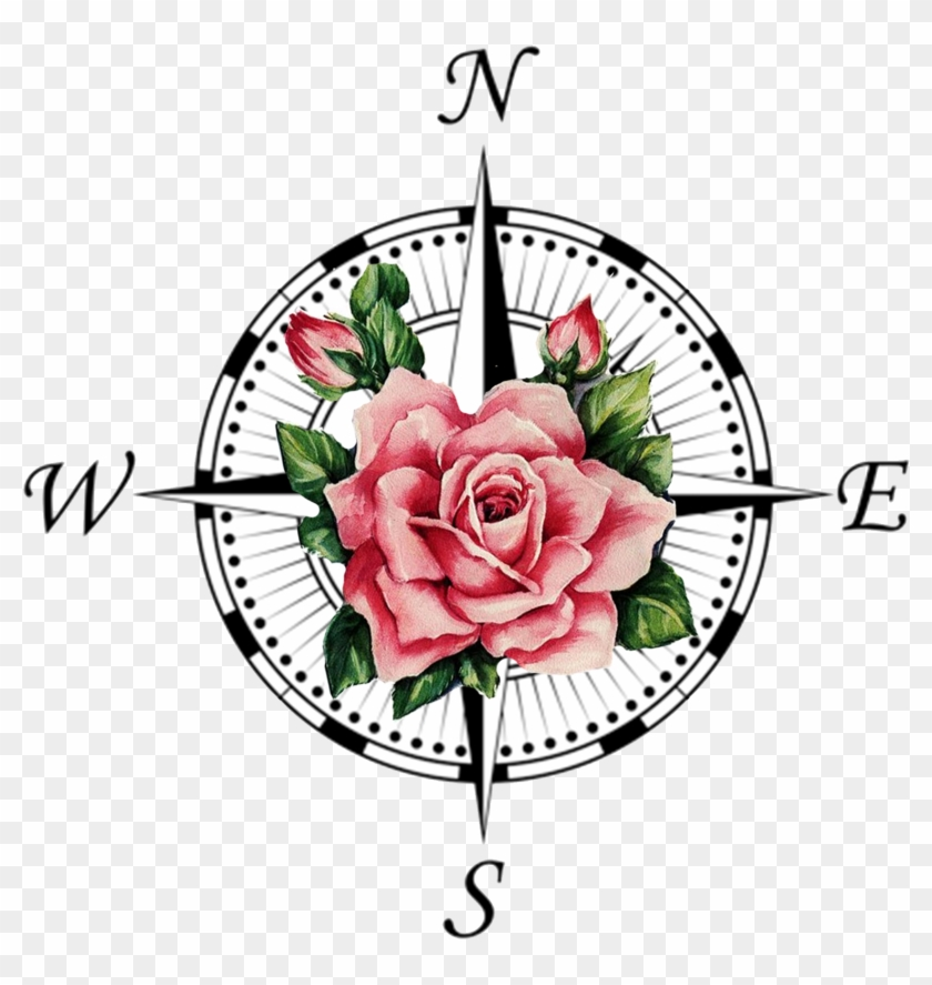 Compass Rose Tattoo Transprent Png Free Download.
