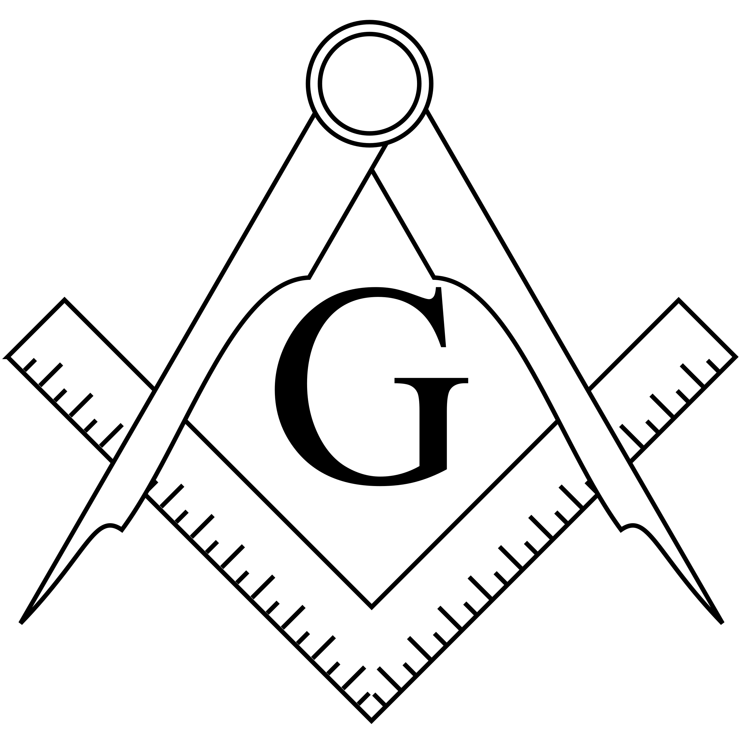 Collection of Masonic clipart.